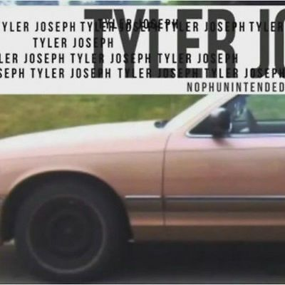 Tyler Joseph of Twenty One Pilots No Phun Intended CD