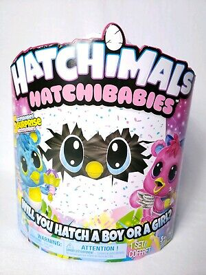 Hatchimals HatchiBabies Hatching Egg Electronic Toy Spin Master Factory Sealed