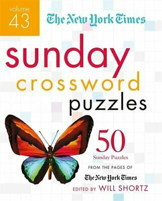 The New York Times Sunday Crossword Puzzles (Volume 43)