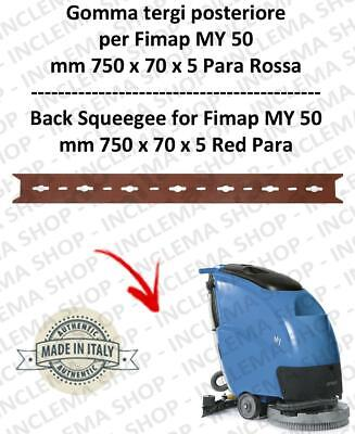 My 50  Gomma tergipavimento back for scrubber dryers FIMAP s/n 211014837