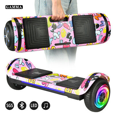 "6.5"" Hoverboard Bluetooth LED Light Electric Self Balancing Scooter UL2272 NOBag"