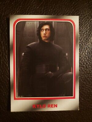 2019 Topps Journey TO Star Wars:The Rise Of Skywalker Kylo Ren