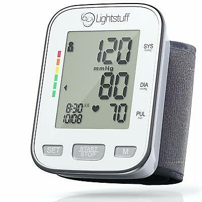 Digital Blood Pressure Monitor with Irregular Heart Beat Indicator Portable Cuff
