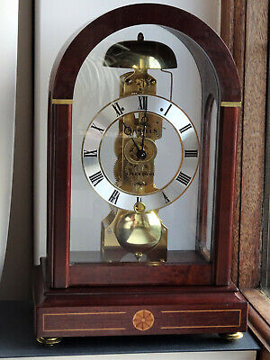 Skeleton Clock made by Sewills of Liverpool