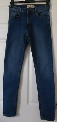 "Stunning  Boys /Mens Stretch Jeans By Next, Size 30R"" Waist ; 31"" I / Leg."