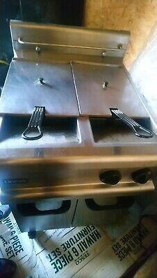 Lincat Dual Tank Basket gas Deep Fryer Commercial Restaurant