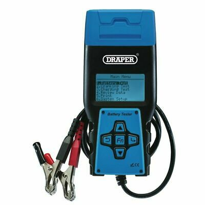 Draper Digital Battery Tester with Printer NEW 92445