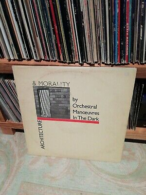 Orchestral Manoeuvres in the Dark (OMD) Architecture and Morality Vinyl LP 1981