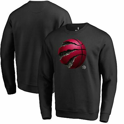 Toronto Raptors Fanatics Branded Midnight Mascot Pullover Sweatshirt - Black