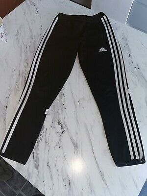 Boys Adidas Climacool  tracksuit bottoms - size YM/ age 9-10 yrs. Vgc