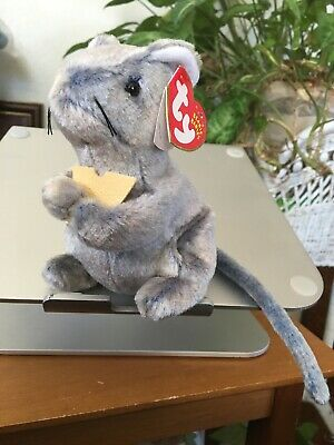 """CHEDDAR ***TY BEANIE BABY*** Style 4525 approx 6/"""""""