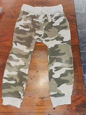 Next Age 3-4 Years camo Joggers Boys