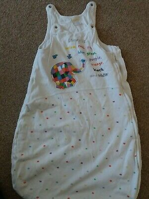 Elmer the elephant baby 0-6 months sleeping bag from M&Co