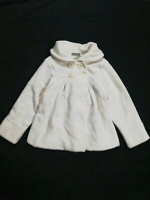 Girls Next Fleece Coat Age 5-6