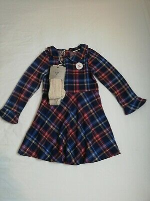 Girls Next Dress And Tights Outfit Age 5-6
