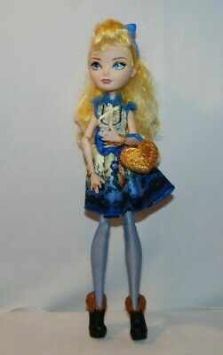 EVER AFTER HIGH 1ST CHAPTER ORIGINAL BLONDIE LOCKES DOLL REPLACEMENT BLUE DRESS