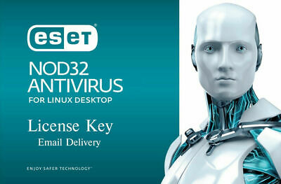 ESET NOD32 Antivirus for Linux Desktop 2020 -1 linux, 6 months (License Key)
