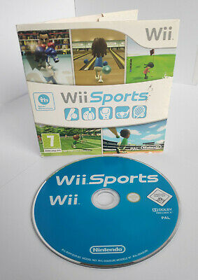 Wii Sports (Nintendo Wii) | Disc, Case | 2006, PAL