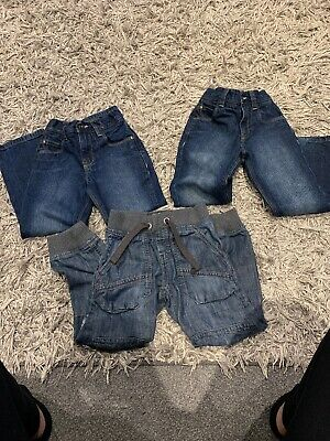Boys Next Jeans Aged 5-6 Years 3 Pairs