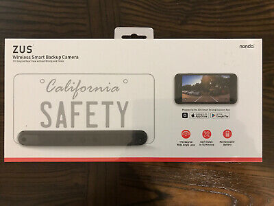 ZUS Wireless Smart Backup Camera, 170-Degree Wide Angle Lens, Brand New Sealed