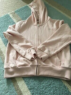 Girls Next Pink Hooded Jumper Age 9 Worn Once