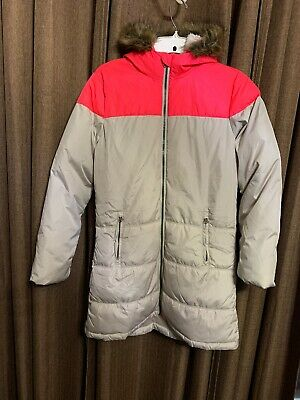 Old Navy Girls XL(14) Puffer Frost Free Coat Quilted Knee Length