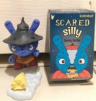 NEW CASE Kidrobot The Bots Scared Silly Dunny Mini Series Full of 24 Sealed