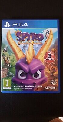 Spyro Reignited Trilogy PS4 Game All 3 original games on one disc
