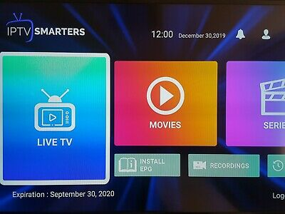 12 months support for Amazon firestick SmartersPro,smart tv's Mag box's ,STB Emu