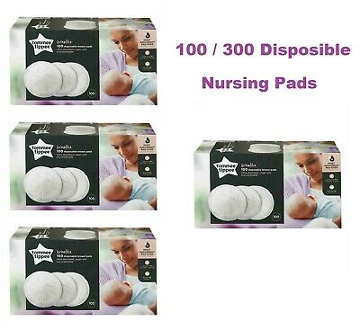Tommee Tippee 100 / 300 Disposable Breathable Breast Pads