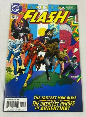 The Flash Annual #13 1St Appearance Of Super Malon / Jay Garrick