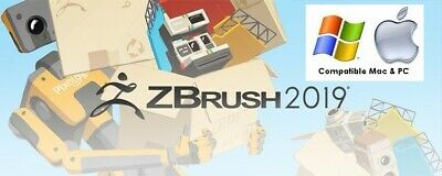 2019 Pixologic ZBrush 2019 - FULL VERSION - WIN & MAC - LIFETIME LICENSE!!!