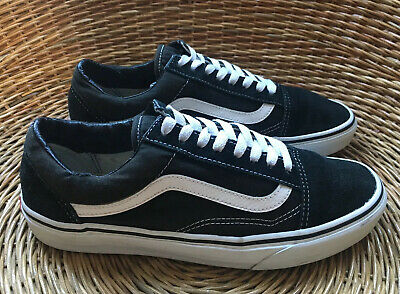VANS Old Skool Mens Womens Black White Skate Low Tops Shoes Trainers UK 8 EU 42