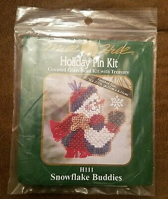 Winter Holiday 2018 Mill Hill Counted Glass Bead Kit w//Treasure Christmas Bells