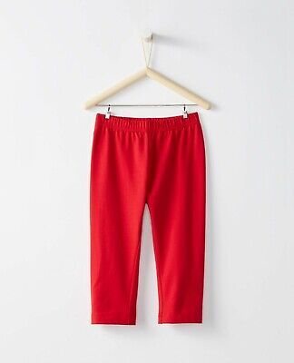 Hanna Andersson Bright Basics Red Capri Leggings Size 140 Hannah Anderson NWT