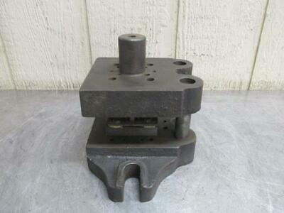 """Danly 0505 ?? Punch Press Precision Back Post Die Set 5"""" x 5"""""""