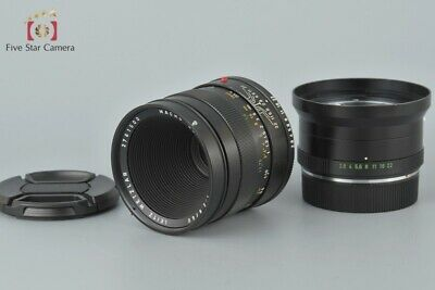 Excellent-!! Leica MACRO ELMARIT-R 60mm f/2.8 3-Cam w/ Extension Tube