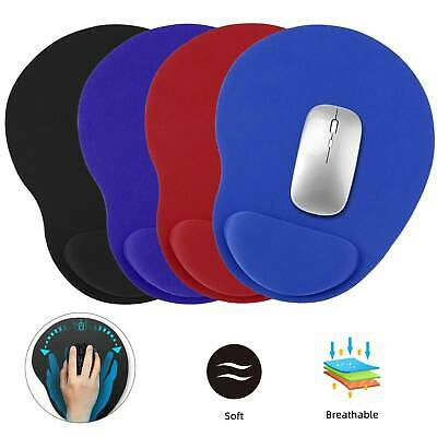 Mousemat Anti-Slip Mouse Pad Mats with Comfort Wrist Gel Rest Support for Gamer