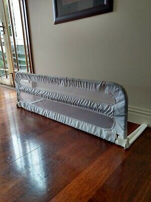Baby Club Toddler Bed Guard Rail Fold Down - White.