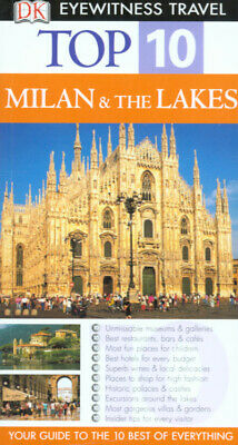 DK eyewitness top 10 travel guides: Milan and the lakes by DK Travel (Paperback