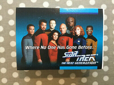 Star Trek The Next Generation Collector Cards - Full 120 Card Set From 1992