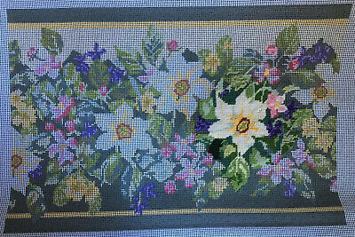Woodland Spring Tapestry kit. Pre Printed. Started But Incomplete.