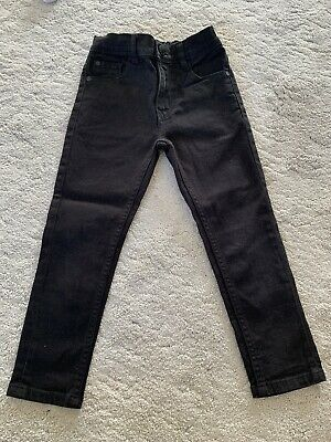 Next Boys Black Skinny Jeans Age 5 Years (Excellent Condition)