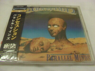 Conception -Parallel Minds- Awesome Very Hard To Find 1993 Press Cd Japan Mint