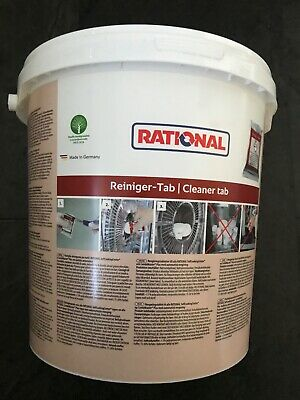 Rational Cleaning Tablets - 56.00.210 new and sealed bucket