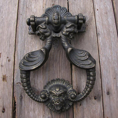 Very Large and Heavy Solid Brass Door Knocker 4KG 11""