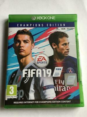 Fifa 19 FIFA19 Xbox One Champions Edition, First Class Post. Brand New Sealed