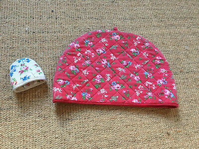 Cath Kidston Tea Cosy And Egg Cosy Red Floral