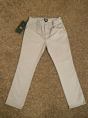 Armani Junior Boys Chino Jeans, Age 5, Grey, Brand New With Tags