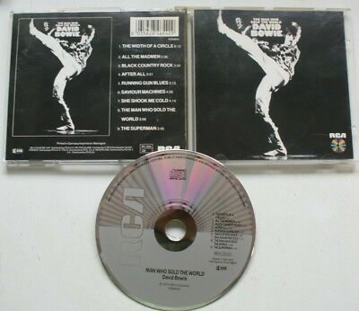 Original German  Rca The Man Who Sold The World David Bowie Cd
